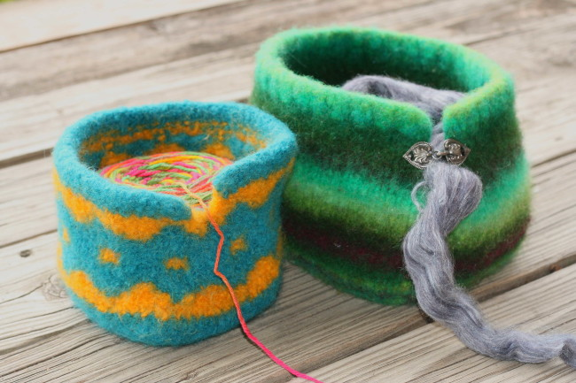 Doing Mean Things To Yarn Lets Try Felting Roving Crafters