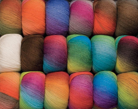 Chroma yarns