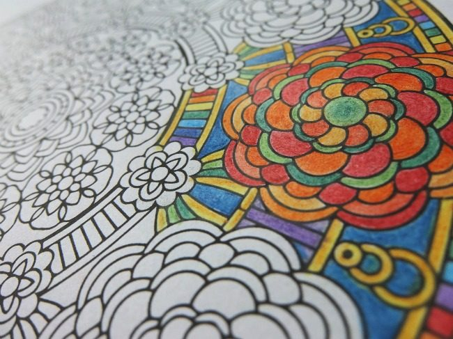 adult coloring for knitters
