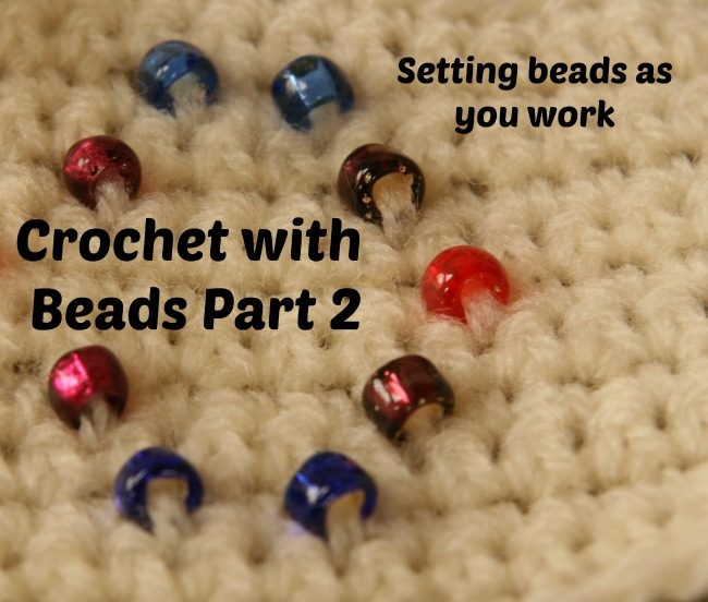 Crochet with beads