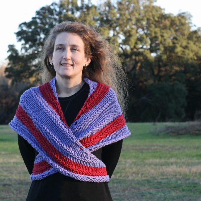 Bustle - a free knit pattern