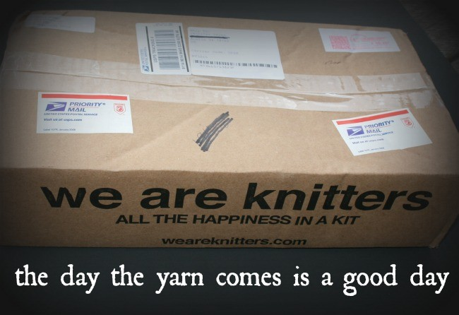 We Are knitters box opening