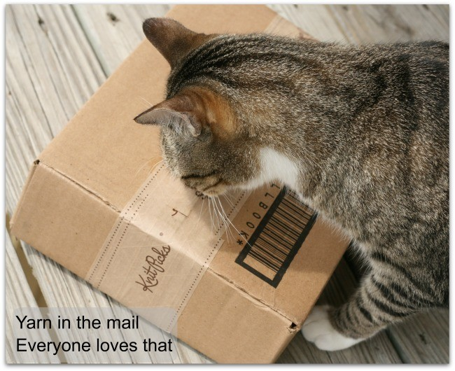 Yarn in teh mail and why we all like that