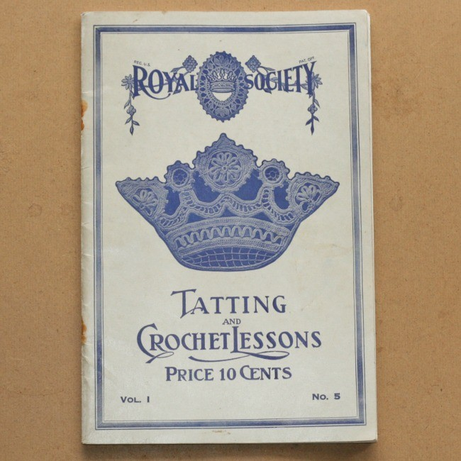 Royal Society Tatting and Crochet lessons (full download)