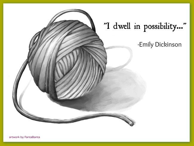 A Ball of Yarn can become anything