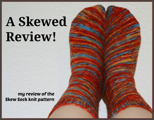 A review of the Skew Sock pattern