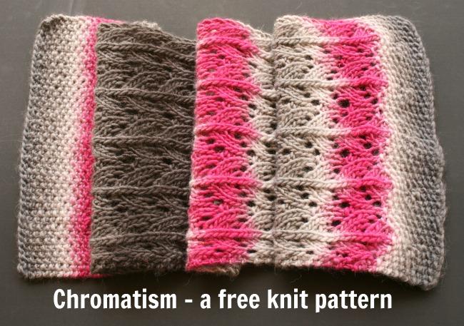 Chromatism - free knit pattern