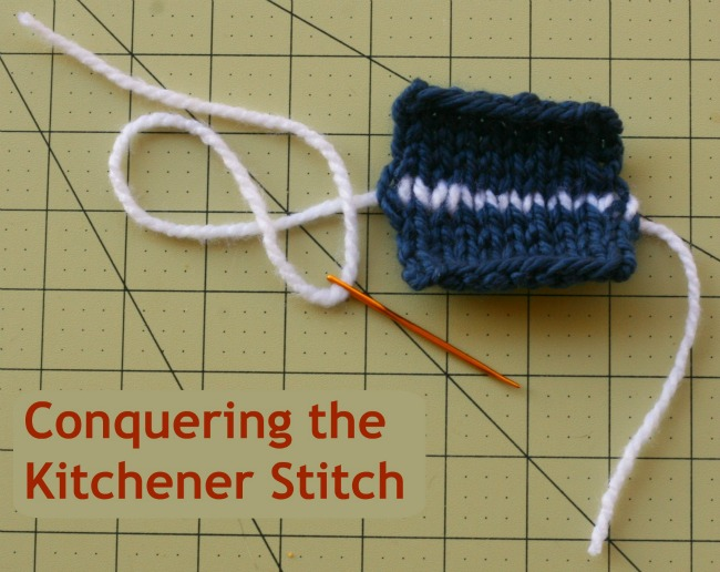 Conquering the Kitchener Stitch Roving Crafters