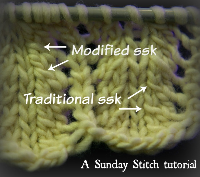Knitting Left Handed Ssk : How to knit a better left leaning decrease