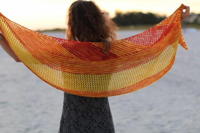 A long look at short rows in knitting