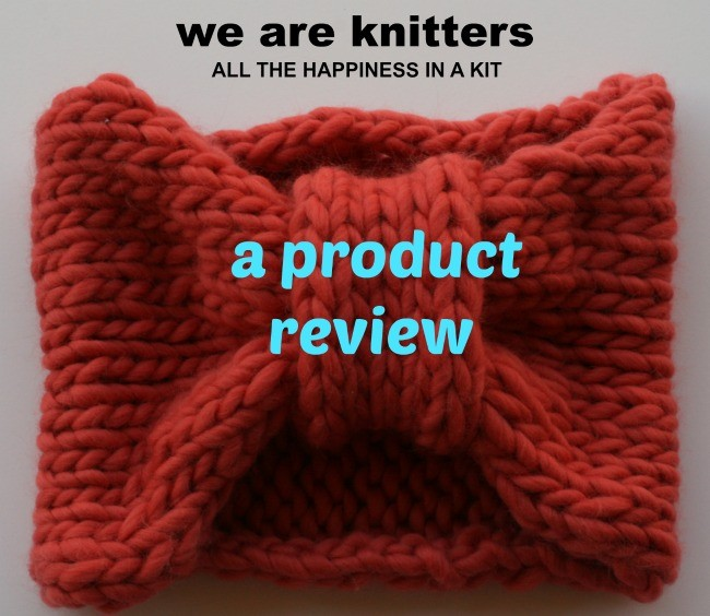 A review of a kit from We Are Knitters