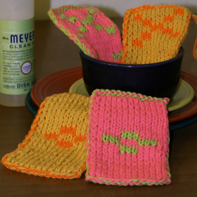 Free double sided knit pattern