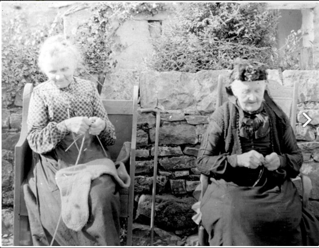 Two Terrible Knitters of Dent
