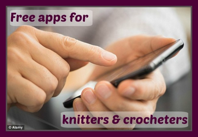 FREE Apps for knitters and crocheters