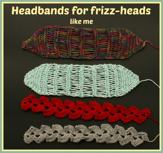 knit and crochet headbands