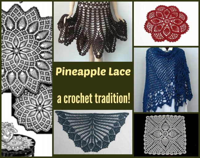 Dive Into Pineapple Lace Crochet