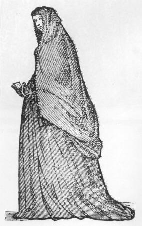 Venetian widow, Cesare Vecellio, 1585-90