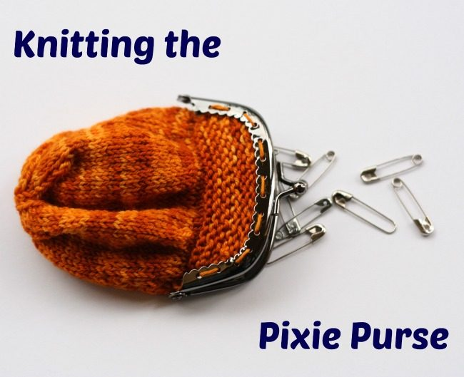 The Pixie Purse knit pattern