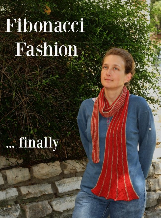 Fibonacci Fashionable - a free knit pattern