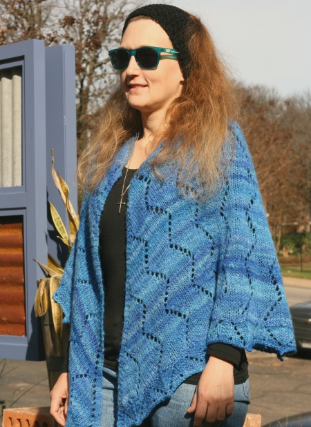 Something Blue - a free knit pattern