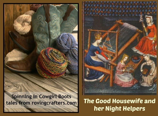 The Good Housewife - a Spinning in Cowgirl Boots tale