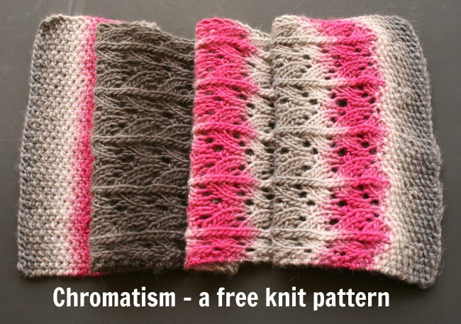 Chromatism - free knit pattern