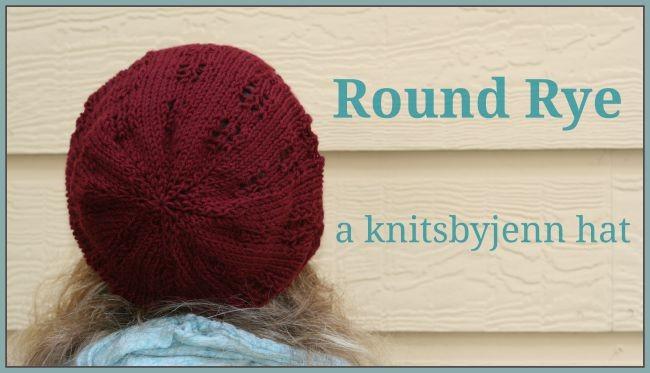 Round Rye - knit hat pattern