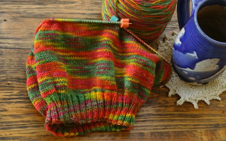 when you�re a knitter with half a brain� just knit