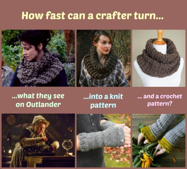 knit & crochet inspired by Outlander