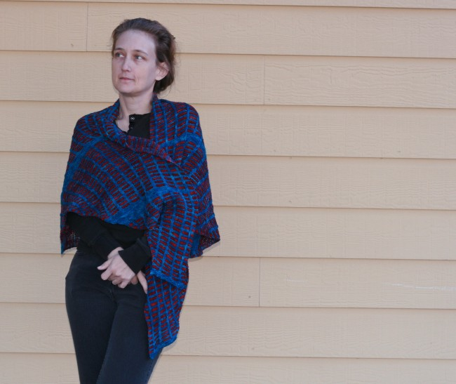 Being Parallel - a knit shawl pattern