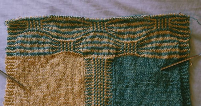 Trickery Knit-a-Long: Finishing the edge