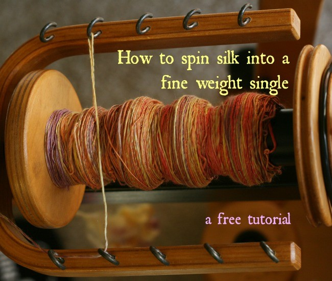 How to Spin Silk into Yarn