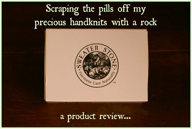 Sweater Stone product review
